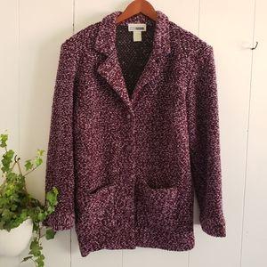 C.M Shapes Purple Blend Coat